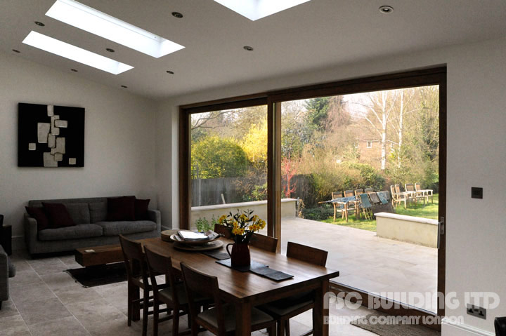 Hayes BR2 7HB raised patio